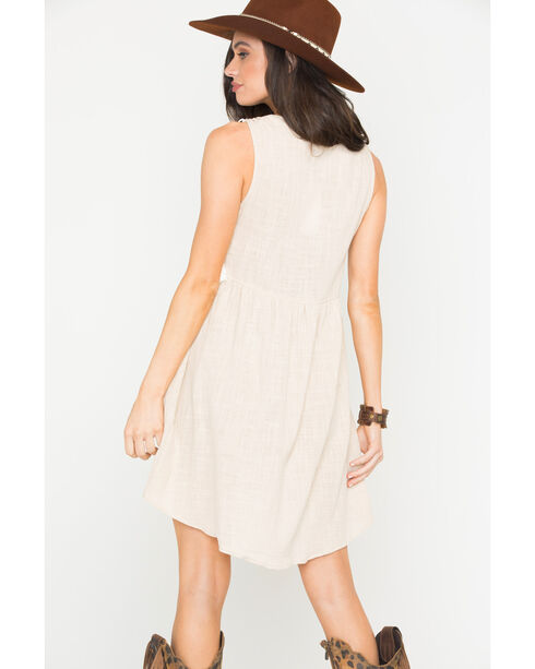 Sage the Label Women's Sofia Dress, Light Grey, hi-res