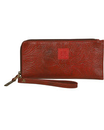 STS Ranchwear Red Floral Clutch Wallet, , hi-res