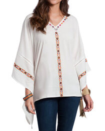 Resistol Women's Cream Marina Tunic , , hi-res