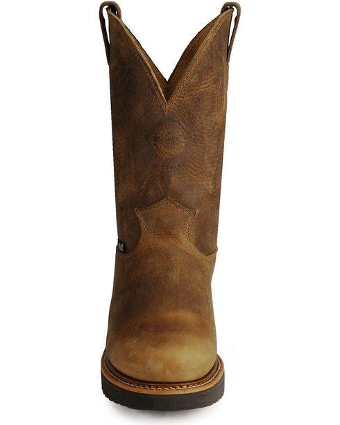 Justin Men's J-Max Steel Toe Work Boots, Tan, hi-res