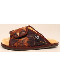 M&F Western DBL Barrel Men's Mossy Oak Slide Slippers, , hi-res