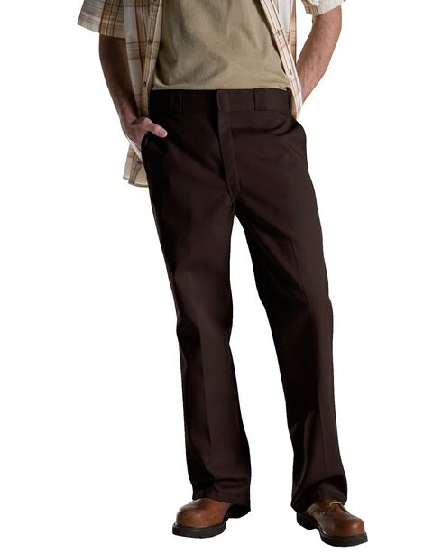 Dickies Men's Original 874 Work Pants, Brown, hi-res