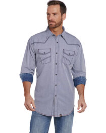 Cowboy Up Men's Vintage Wash Print Shirt , , hi-res