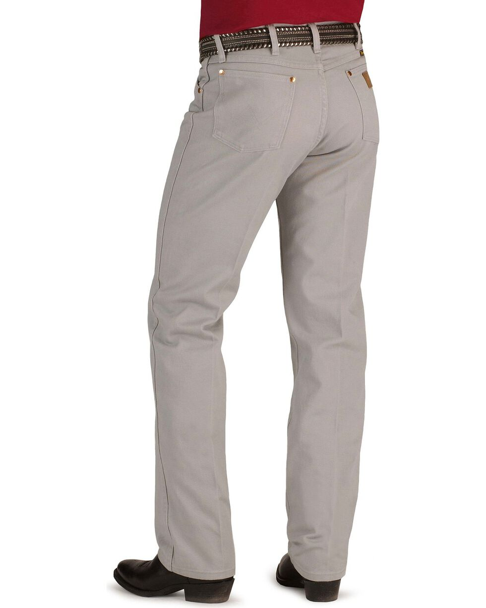 Wrangler 13MWZ Cowboy Cut Original Fit Jeans - Prewashed Colors, Cement, hi-res