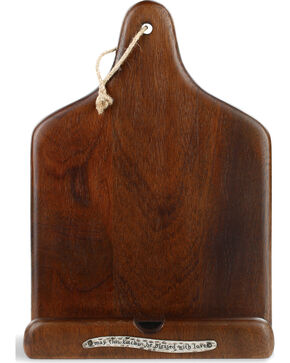 Demdaco Cookbook and Tablet Holder, Brown, hi-res