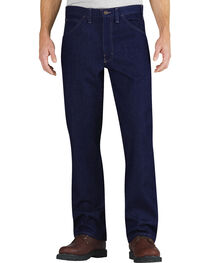 Dickies Relaxed Fit Straight Leg Flame-Resistant 5-Pocket Jeans, , hi-res