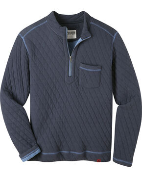Mountain Khakis Men's Navy Hideaway Pullover Sweater  , Navy, hi-res