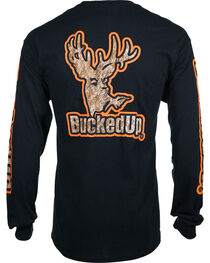 BuckedUp Men's Long Sleeve Graphic T-Shirt, , hi-res