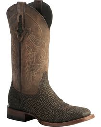 Lucchese Men's Ryan Exotic Shark Western Boots, , hi-res