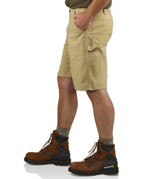 Carhartt Men's Washed Twill Dungaree Shorts, Khaki, hi-res