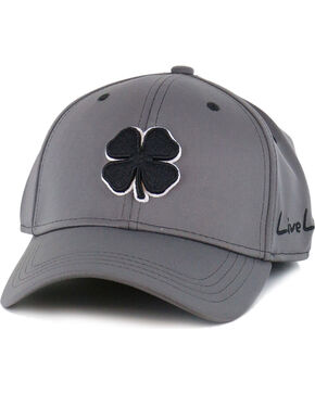 Black Clover Men's Premium Fitted Low Profile Ball Cap, Grey, hi-res