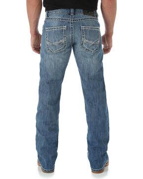 Rock 47 by Wrangler Men's Boot Cut Jeans, Denim, hi-res