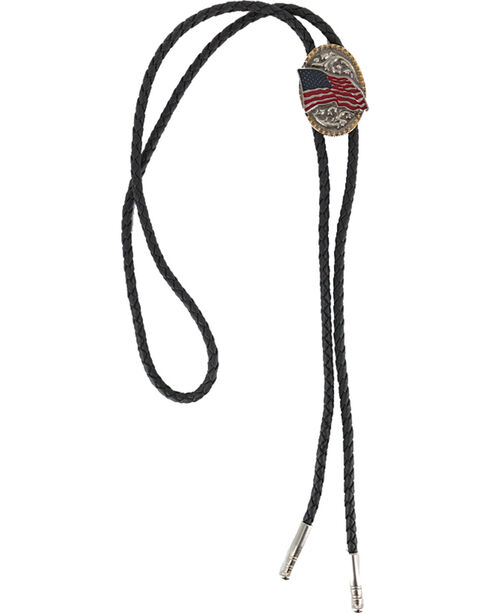 Cody James® American Flag Bolo Tie, Multi, hi-res