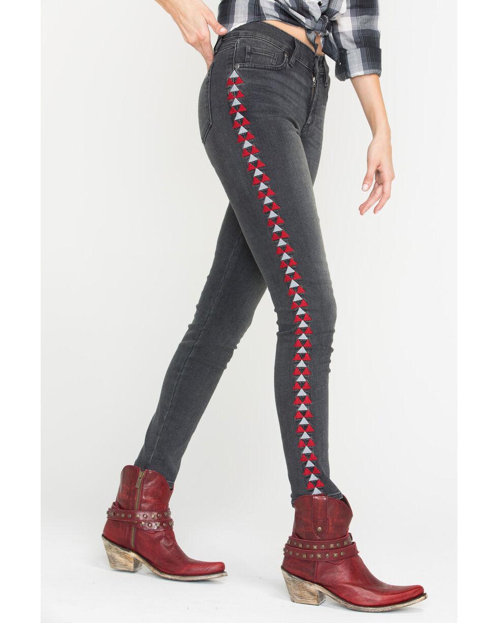 MM Vintage Women's Anais Skinny Jeans, Black, hi-res