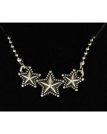 Lightning Ridge Triple Star Necklace, , hi-res