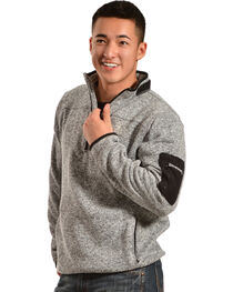 Browning Men's Laredo Grey and Black Sweater Pullover, , hi-res