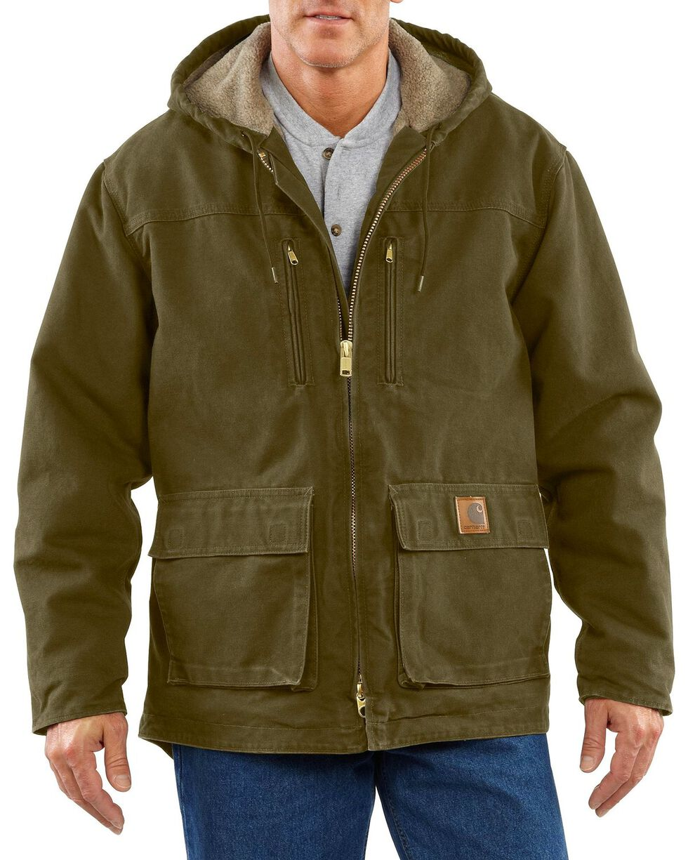Carhartt Men's Jackson Coat - Big & Tall, Army, hi-res