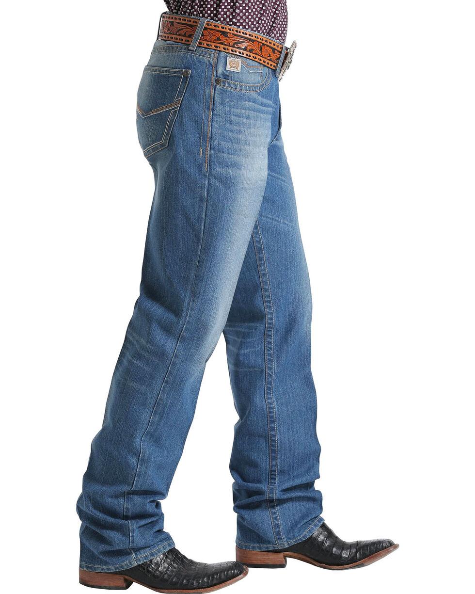 Cinch Men's Relaxed Fit Boot Cut Jeans, Indigo, hi-res