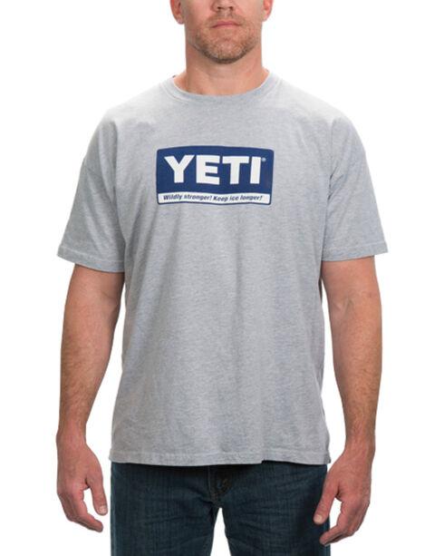 Yeti Men's Billboard Graphic Tee, Grey, hi-res