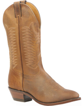 Boulet Hillbilly Golden Rider Sole Boots - Medium Toe, Tan, hi-res