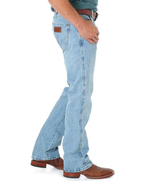 Wrangler Retro Men's Slim Fit Jeans, Blue Frost, hi-res
