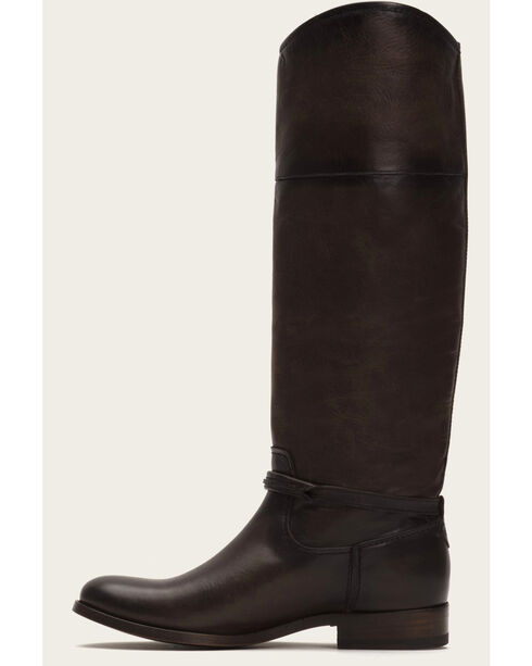 Frye Women's Slate Melissa Seam Tall Boots - Round Toe , Grey, hi-res