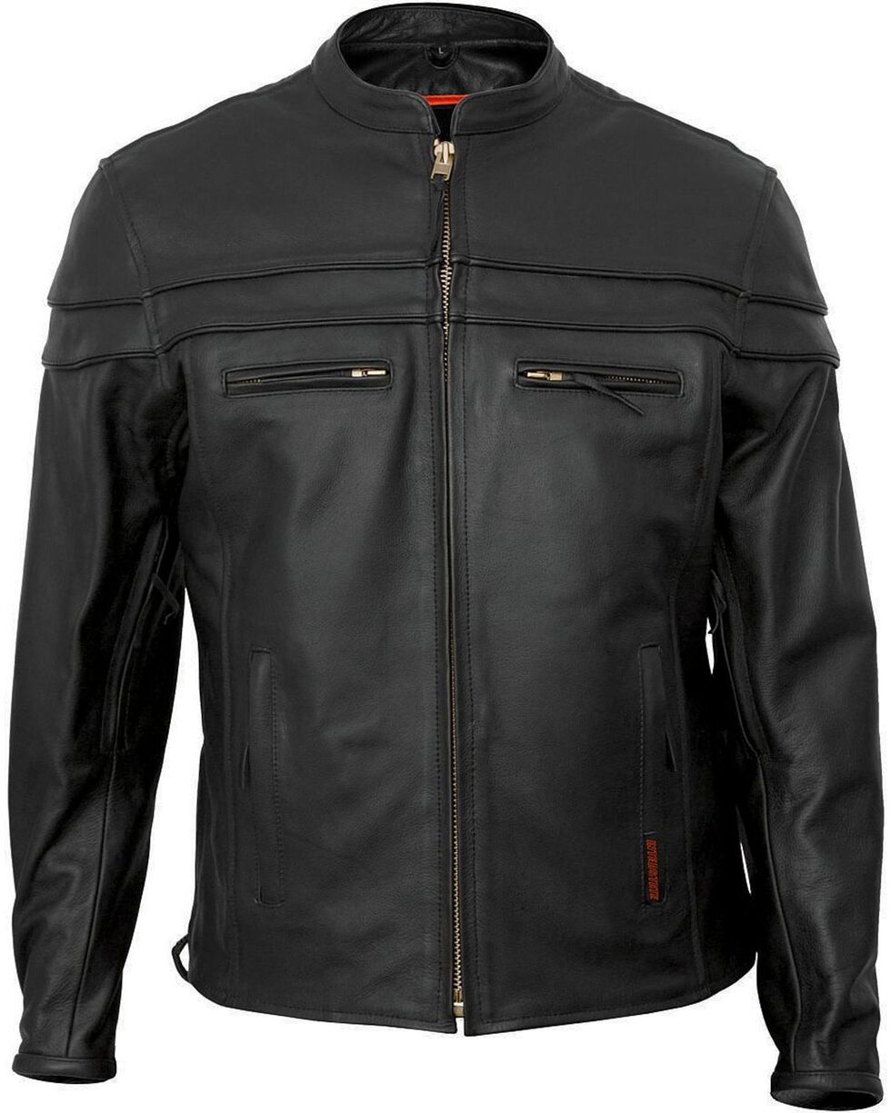 Interstate Leather Scooter Jacket, , hi-res