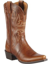 Ariat Girls' Heritage Vintage Cedar Cowgirl Boots, , hi-res