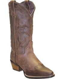 "Rawhide Women's 11"" Cutout Wingtip Fashion Boots, , hi-res"