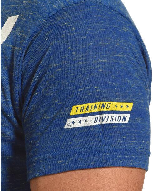American Fighter by Affliction Men's Blue Lockwood Tee , Light Blue, hi-res