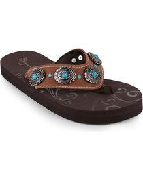 Shyanne® Women's Concho Sandals, , hi-res
