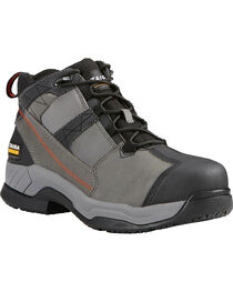 Ariat Men's Graphite Contender Steel Toe Work Shoes, Grey, hi-res
