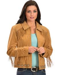 Scully Studded Fringe Jacket, , hi-res