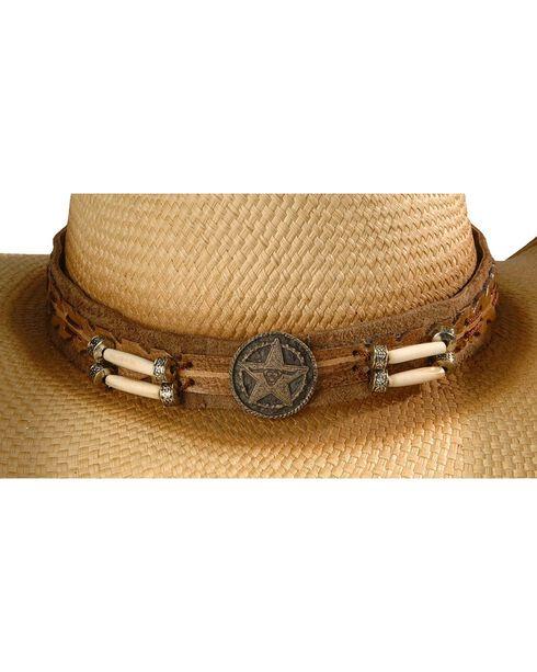 Bullhide Men's Dundee Straw Hat, Natural, hi-res