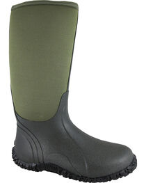 Smoky Mountain Men's Green Amphibian Waterproof Work Boots, , hi-res