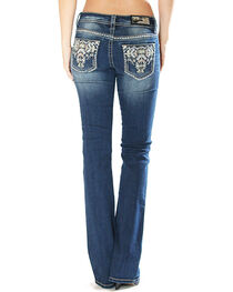 Grace in La Women's Tribal Embellishment Jeans - Boot Cut , , hi-res