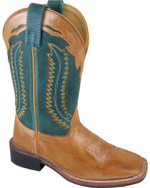 Smoky Mountain Youth Boys' Frank Western Boots - Square Toe , , hi-res