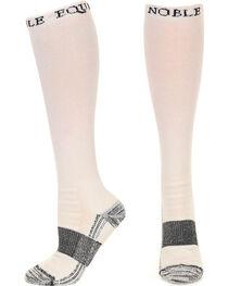 Noble Outfitters Men's White Best Dang Boot Socks , , hi-res