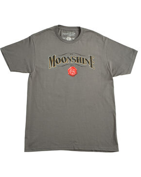 Moonshine Spirit® Men's Barrel T-Shirt, Charcoal, hi-res