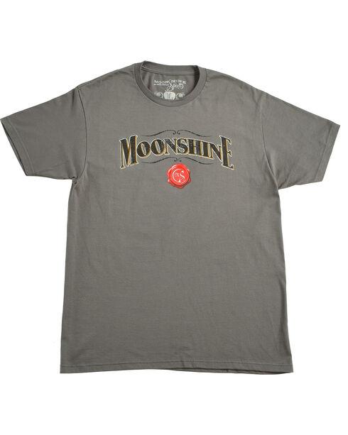 Moonshine Spirit® Men's Barrel T-Shirt, Charcoal, hi-res