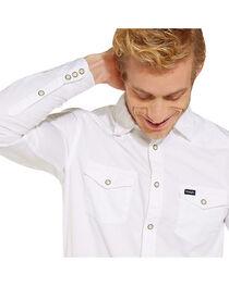 Wrangler Men's 70th Anniversary Western Slim Fit Solid Shirt, , hi-res