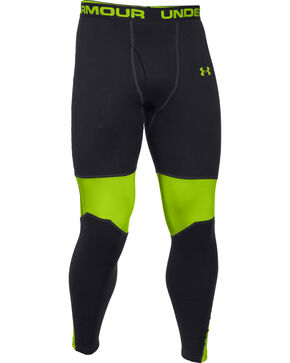 Under Armour Men's Base Extreme Scent Control Leggings , Black, hi-res