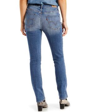 Levi's Women's Mid Rise Skinny Jeans, Blue, hi-res