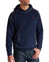 Ariat Flame-Resistant Navy Polartec Hoodie, , hi-res