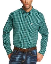 Ariat Men's Indigo Odem Long Sleeve Shirt - Big and Tall , , hi-res