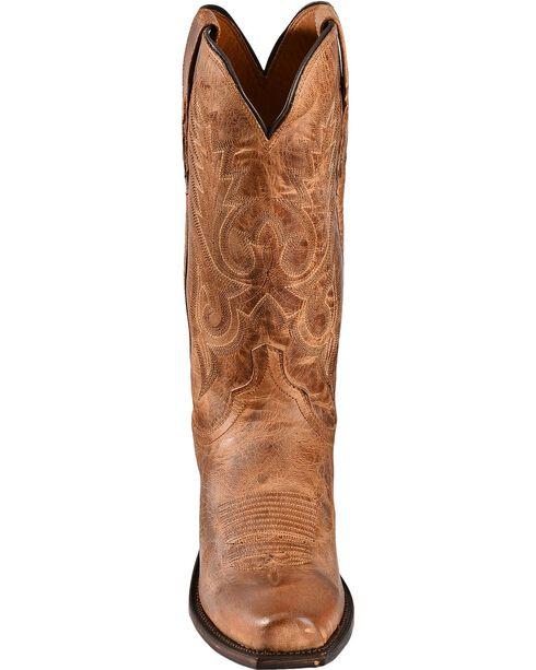 Lucchese Men's Lewis John Wayne Mandras Goat Western Boots, Tan, hi-res