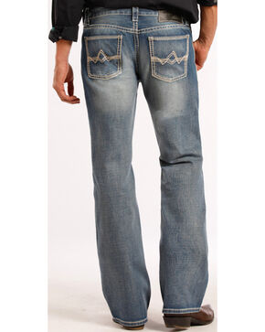 Rock & Roll Cowboy Pistol Boot Cut Jeans, Denim, hi-res
