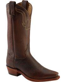 Tony Lama Men's El Paso Rowdy Bison Snip Toe Western Boots, , hi-res