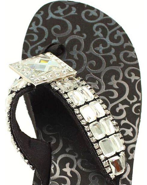 Blazin Roxx Mandi Flip Flops, Black, hi-res