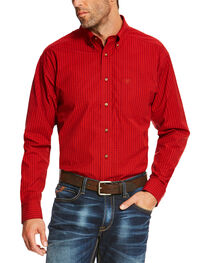 Ariat Men's Ruby Sandberg Plaid Button Up Pro Shirt - Tall, , hi-res